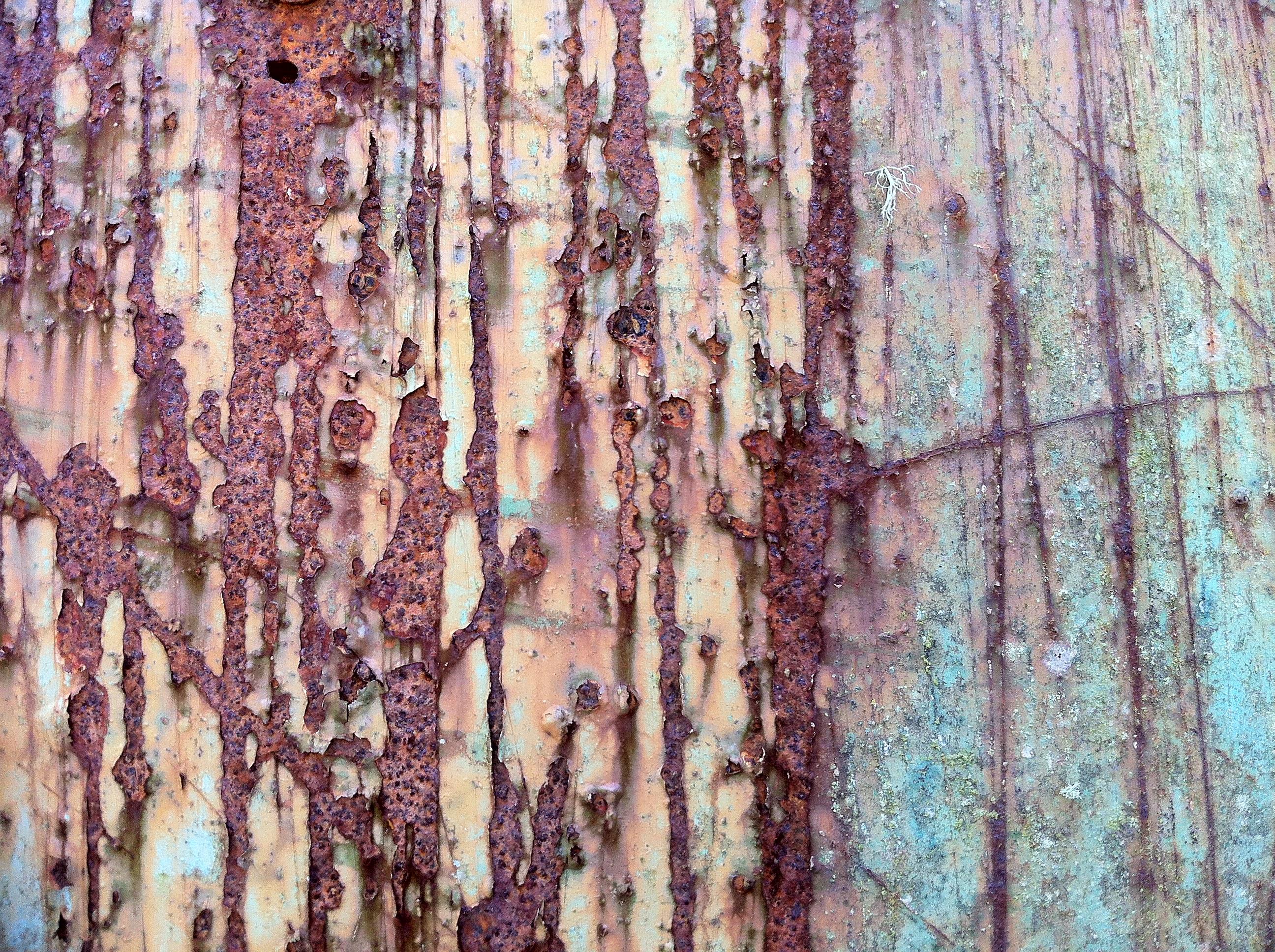 Corrosion photo by Caro Woods
