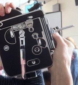 This is the motion picture camera that was used for television news and documentaries since the 1930's, and still used today by enthusiasts for it's unique 'hands on' feel.