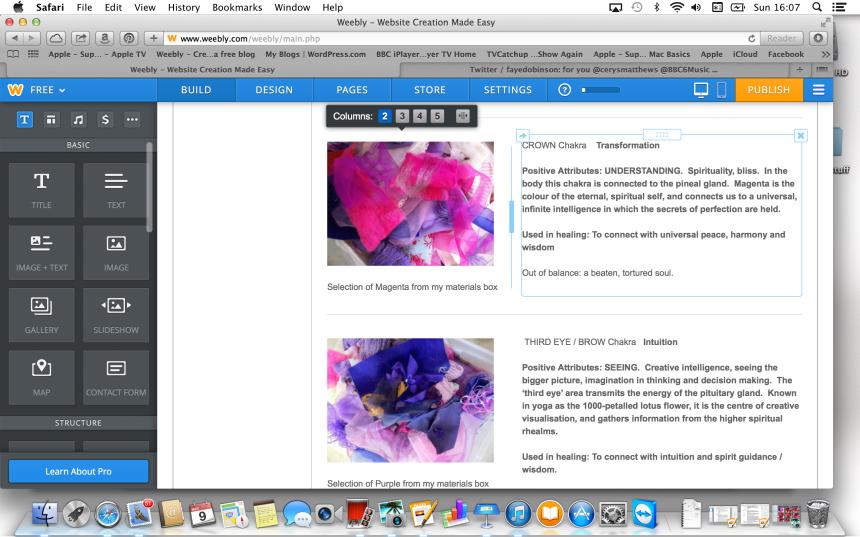 scree-shot of website