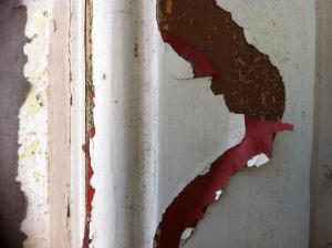 peeling paintwork: state of suspension